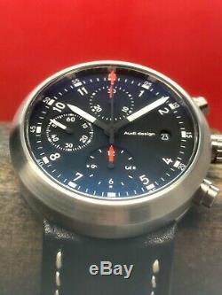 Très Rare Sinn Audi Design Cercle Chronographe Valjoux Set Automatique 40mm