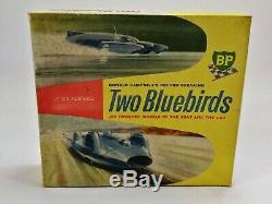 Très Rare Sir Donald Campbell Bluebird Fiche De Voiture En Plastique Set Par Jetex