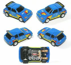 Très Rare Tomy Afx Turbo Japan Victory Mountain Set Only Peugeot Slot Car Sweet
