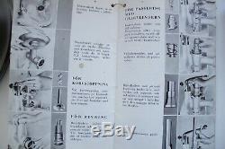 Très Rare Vintage 1946 Electrolux Assistent # Nx1 Mixer Rg.manuel Ensemble