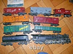 Très Rare Vtg. 1954 American Flyer Steam Engine Train Set # 336 Union Pacific