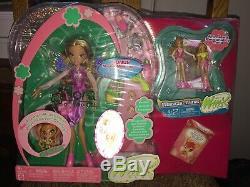 Tres Rare Winx Club Flora Set Pni Mattel Minis & More