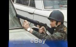 Très Rare Yougoslave Era Gris Motif Tigre Camo Set Uniforme Avec Riot Vest 1985