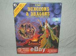 Tsr 1er Ed Box Set & Dragons Expert Dungeons Règles (très Rare Dans Le Psy!)