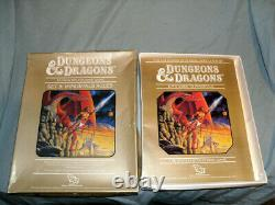 Tsr 1st Ed Dungeons & Dragons Set 5 Règles Immortales (complete Et Very Rare!)