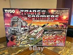 Tyco 1985 Transformateurs G1 Train Électrique Bataille Set 7430 Ho New Sealed Très Rare