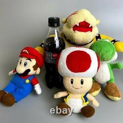 Very Rare 2003 Super Mario Party 5 Ensemble De 4 Nintendo Sanei Hudson Soft Peluche