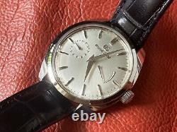 Very Rare Grand Seiko Elegance Collection Silver Dial Watch Sbgk007 Ensemble Complet