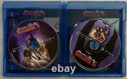 Very Rare Oop Slumber Party Massacre II & III Blu Ray 2 Disc Set Shout Factory