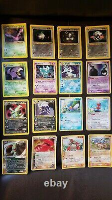Very Rare Pokemon Holo Lot 60 Cartes Shining Mewtwo 1999 Charizard 4/102 Ensemble De Base