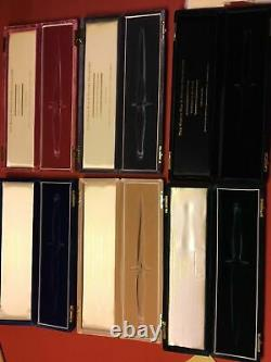 Very Rare Wilkinson Sword Ww2 Collection Six Knives Original Set Même Sn Pour Tous