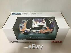 Vieux Très Rare Kyosho Mini-z Racer Body & Awd Châssis Set Alice Moteurs Evo X Rare