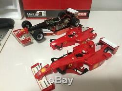 Vieux Très Rare Kyosho Mini-z Racer F1 Ferrari Prêt Série F2002 # 1 Fabriqué Au Japon