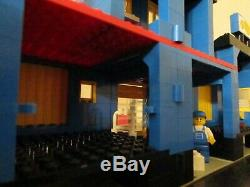 Vintage (1984) Lego Town Situé 6391 Cargo Center Tres Rare