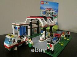 Vintage (1992) Lego Town Octan Ensemble 6397 Gas'n Wash Express Très Rare