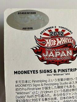 Vw Drag Convention Bus Japon Mooneyes Set Très Rare 107/1500 Et 1452/1500