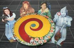 Wizard Of Oz Franklin Mint Table & Chair Set Pour Enfants -very Rare/brand New